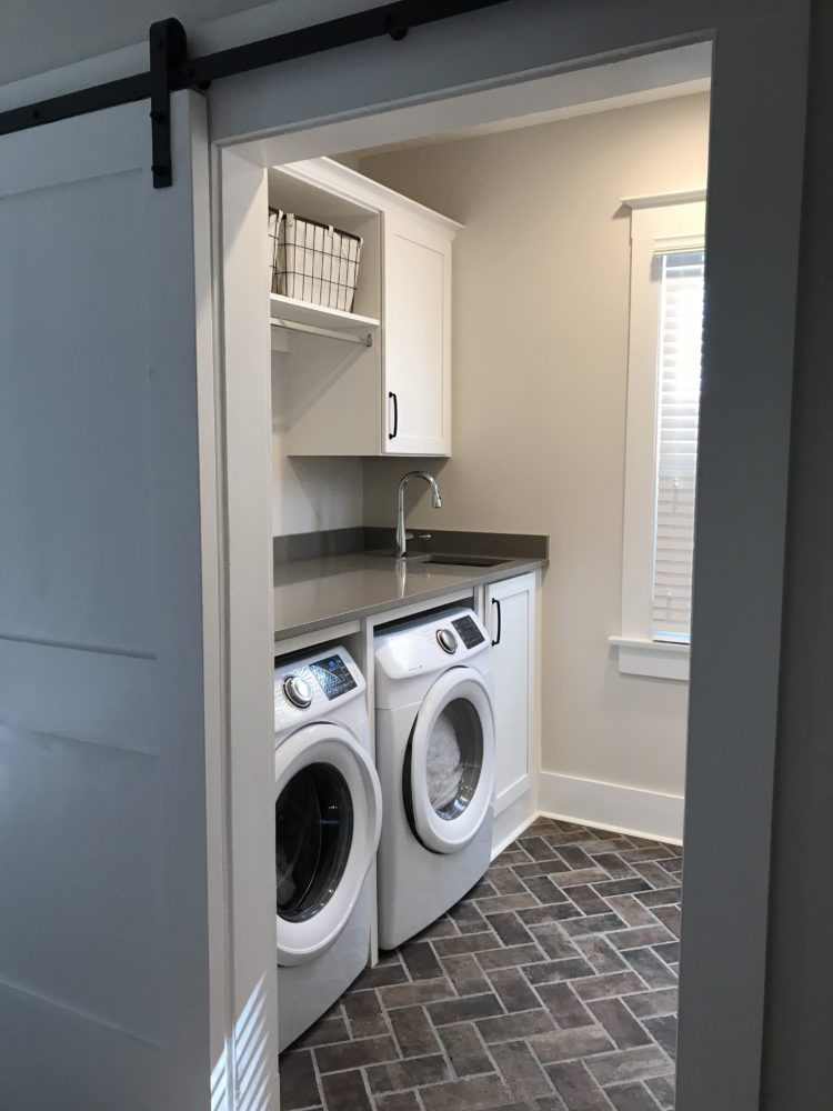 New Laundry Room After
